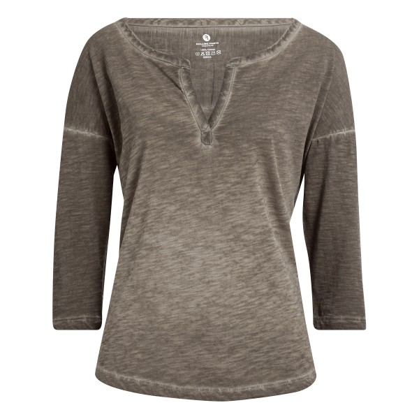 """Damen T-Shirt mit 3/4 Arm im """"Loose Fit"""" mit tollem Halsausschnitt"""