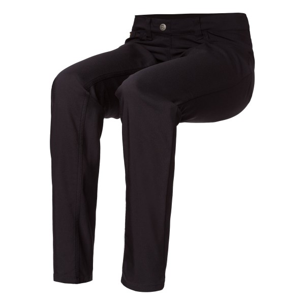 LUNA Damen Schlupf-Hose aus schwarzem Techno Stretch