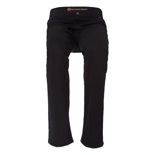 "KLAAS Herren Chino in Schwarz im ""Slim fit"" Style in Gabardine"