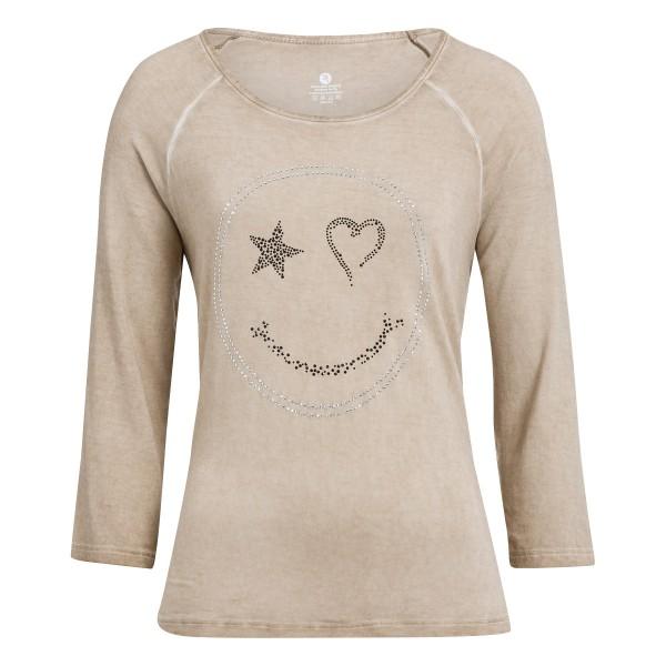 Damen T-Shirt 3/4 Arm mit Rundhals und tollem Print
