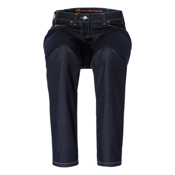 "CLEO Damen Jeans stone washed in ""lässiger Beinweite"" 5-Pocket Style in Tencel Denim"