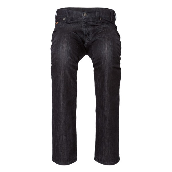 "CHRIS Herren-Jeans ""Loose fit"" in Black Denim 5-Pocket Style"