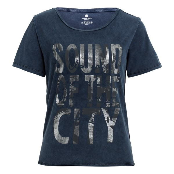 Damen T-Shirt mit Rundhals und Print