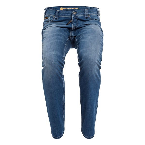"CHRIS Herren-Jeans used Optik im ""Loose fit"" 5-Pocket Style in stretch Denim"